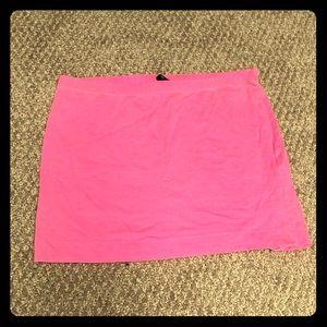 H&M Skirts - Hot pink mini skirt 🔥